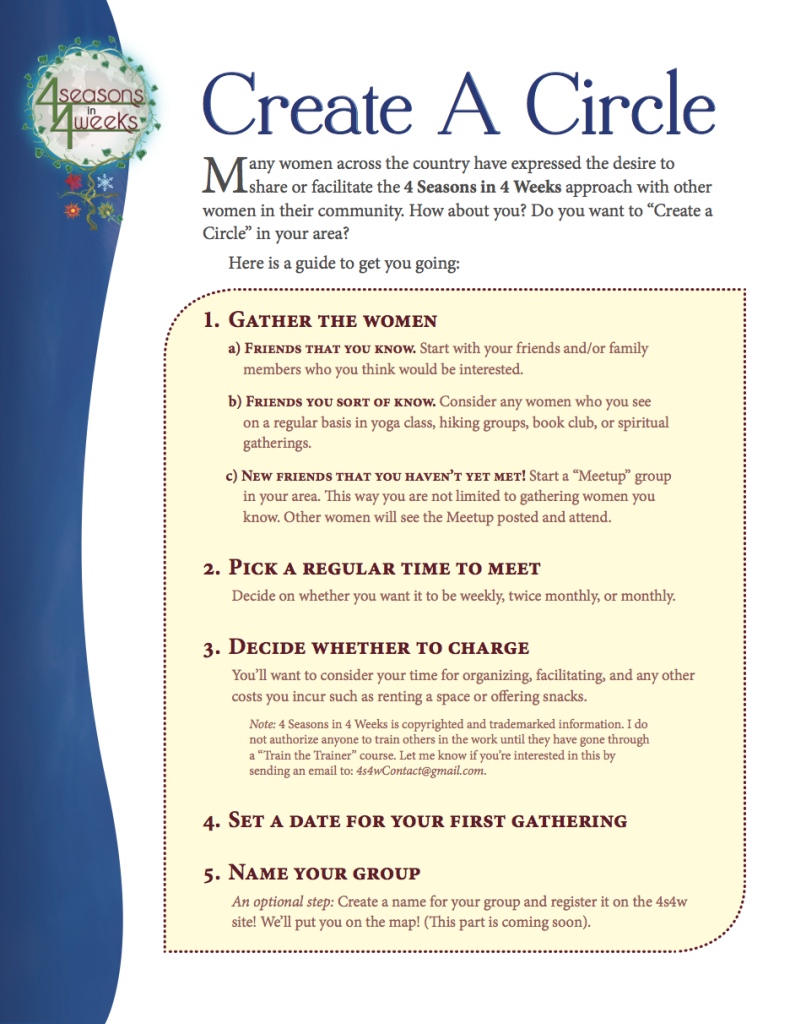 Create A Circle Guidelines