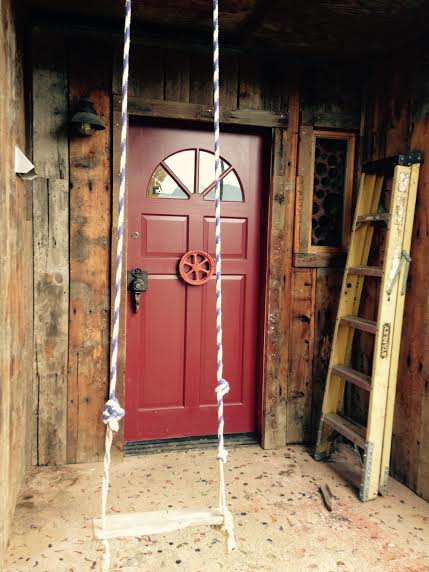 Front door swing