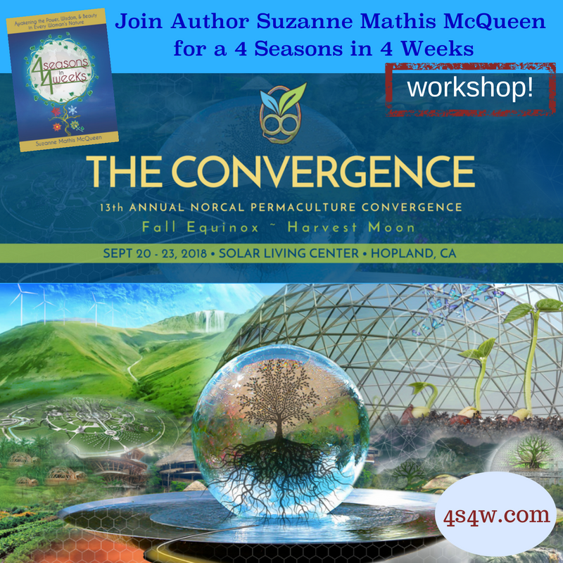 4 Seasons in 4 Weeks is giving a workshop at the 13th Annual Norcal Permaculture Convergence